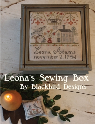 Leona's Sewing Box; Blackbird Designs