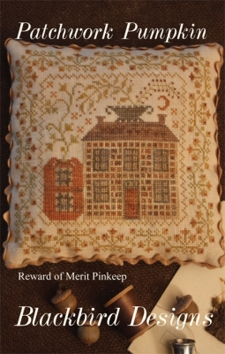 Patchwork Pumpkin; Blackbird Designs