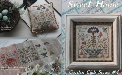 Sweet Home (4/12) Garden Club Series; Blackbird Designs