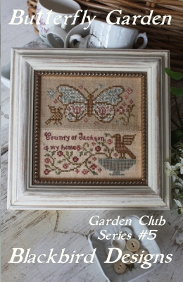 Butterfly Garden (5/12) Garden Club Series; Blackbird Designs