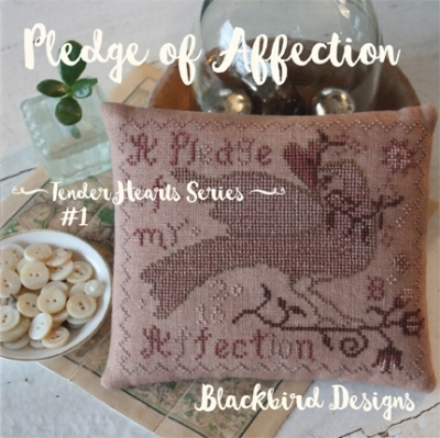 Pledge of Affection - 1 in Tender Heart Series; Blackbird Designs