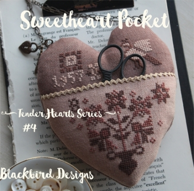 Sweetheart Pocket - 4 in Tender Heart Series; Blackbird Designs