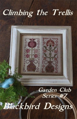 Climbing the Trellis (7/12) - Garden Club Series; Blackbird Designs