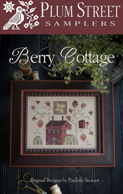 Berry cottage by Plum Street Samplers