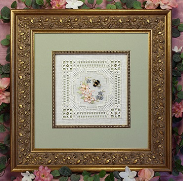 Bumblebee Lace Sampler by The Victoria Sampler
