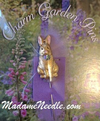 Bunny pin by Just Nan