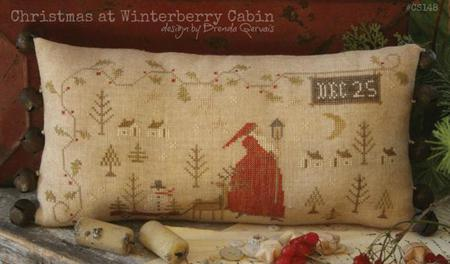Christmas At Winterberry Cabin by With Thy Needle & Thread
