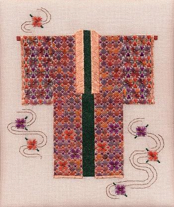 Chrysanthemum Kimono by Laura J.Perin Designs