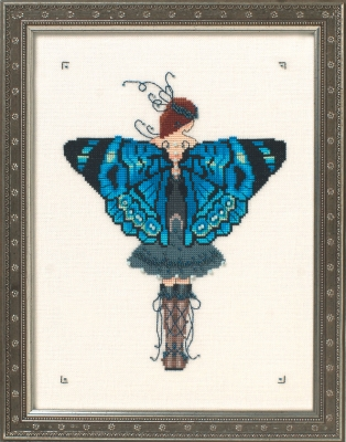 Miss Columbian Nymphalid  Butterfly Misses Collection,NC242,Nora Corbett