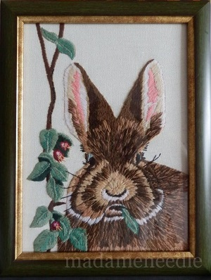 Cottontail stitched