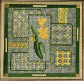 Daffodil Collage by Laura J.Perin Designs