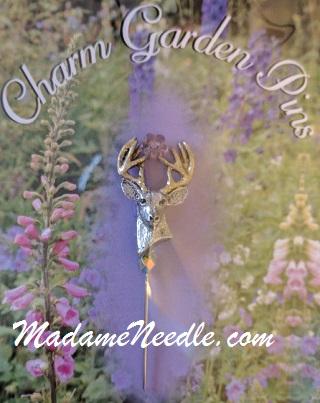 Dazzling Deer pin by Just Nan