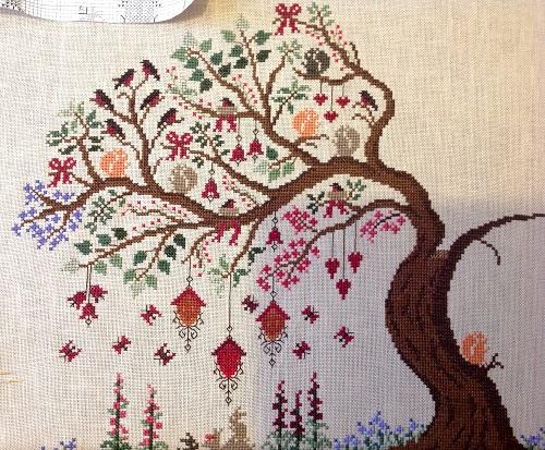 Easter tree by Olga