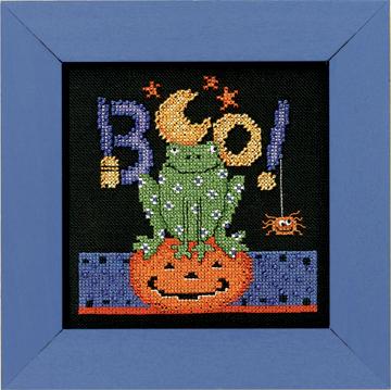 Boo Frog by Debbie Mumm