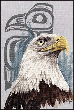 Eye of the eagle by Stitching Studio