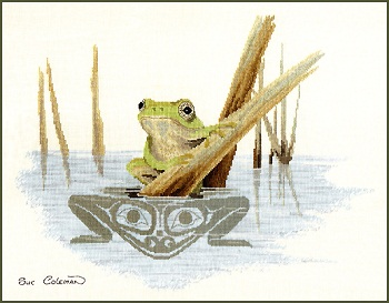 Frog by Stitching Studio