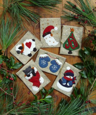 Gift Bag Ornaments Kit by Rachael's of Greenfield