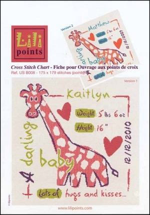 Giraffe by Lili Points