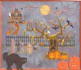Grimm, Glum and Gloom On Halloween by Glendon Place