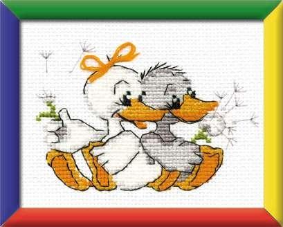 2 Geese by Riolis