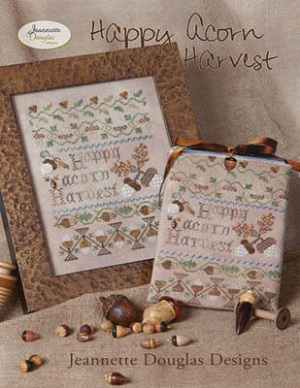 Happy acorn harvest by Jeanette Douglas Designs