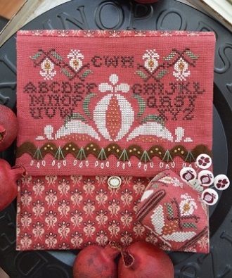 Pomegranate Pocket & Pin by Hands On Design