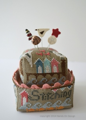 Stitching by the Sea by Hands On Designs