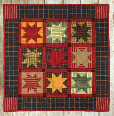 Homespun star quilting kit by Rachael's of Greenfield