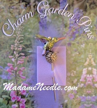 Hummingbird pin by Just Nan