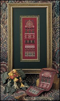 Tinsel tapestry,JN034, by Just Nan