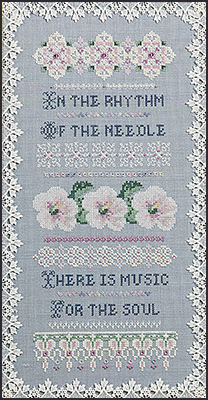 Song Of The Needle, JN043 by Just Nan