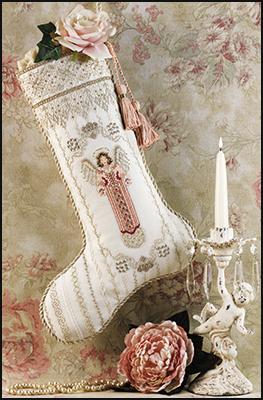 Angel stocking,JN108 by Just Nan