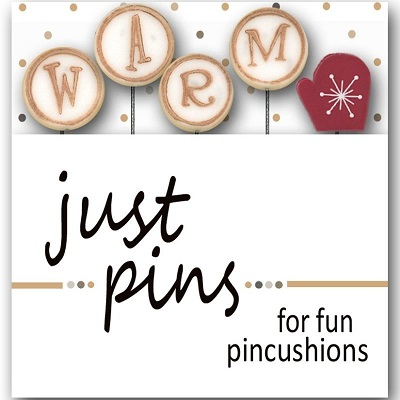 W is for Warm pin set