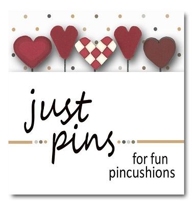 Heart assortment pin set