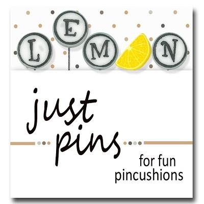 L is for Lemon pin set