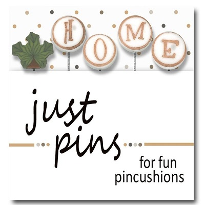 H is for Home pin set