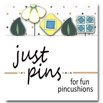 Cathy's Garden pin set