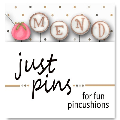 M is for Mend pin set