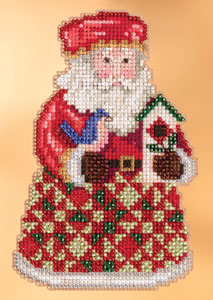 Cozy Christmas Santa by Jim Shore