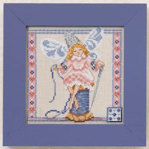 Needlework fairy by Jim Shore