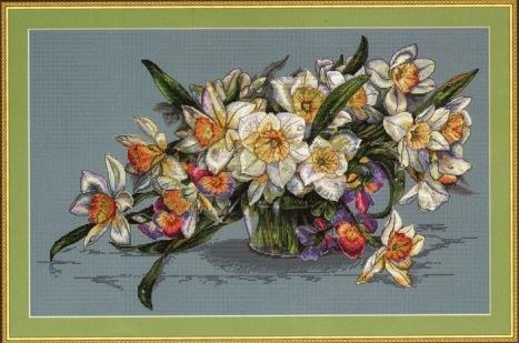 Daffodils by Merejka