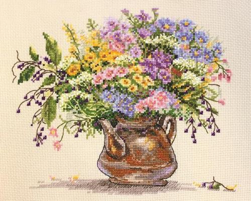 Field flowers by Merejka