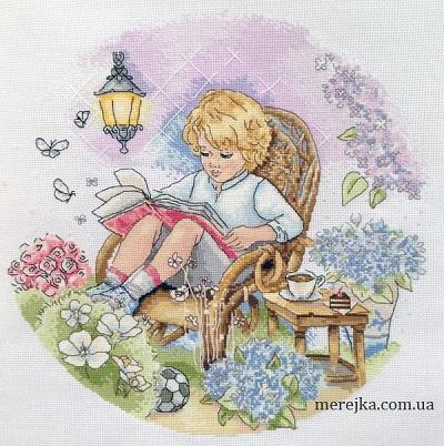 Fairy garden,K-18, by Merejka