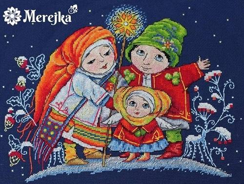 Christmas star,K-26, by Merejka