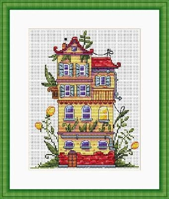 Spring house by Merejka