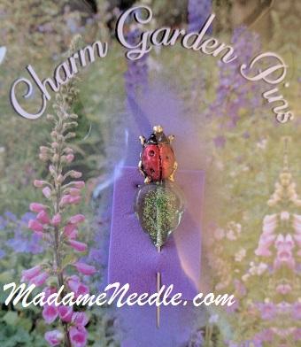 Ladybug pin by Just Nan