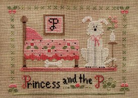 Princess & the P by Little House Needlework