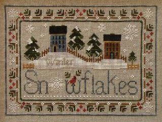 Snowflakes by Little House Needlework