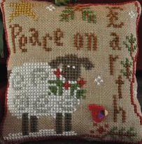 Winter sheep by Little House needleworks