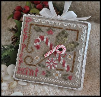 Peppermint twist by Little House Needleworks
